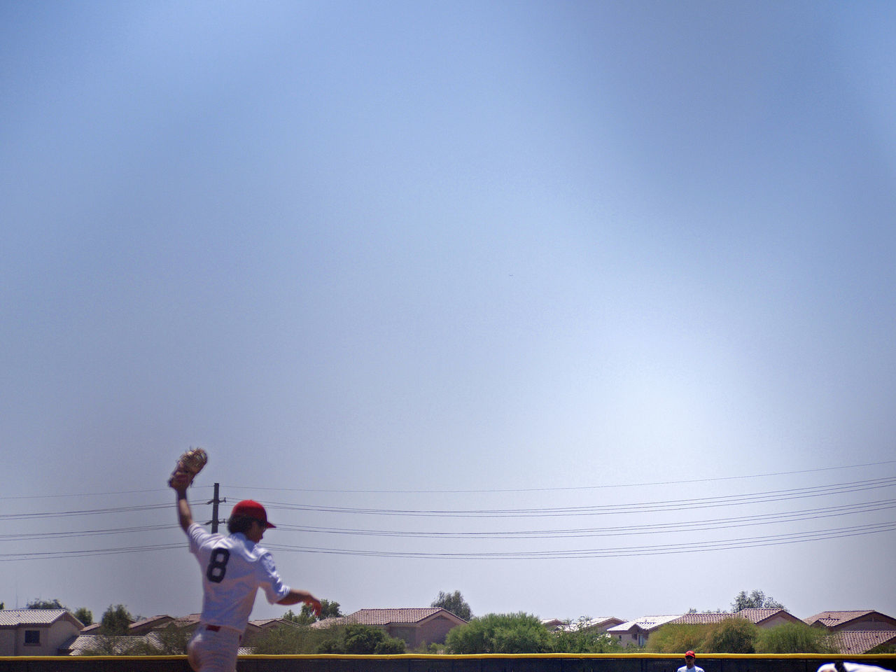 Baseball Baseball Players Beautiful Composition Big Sky Community Landscape Lines And Angles Neighborhood Homes Sky