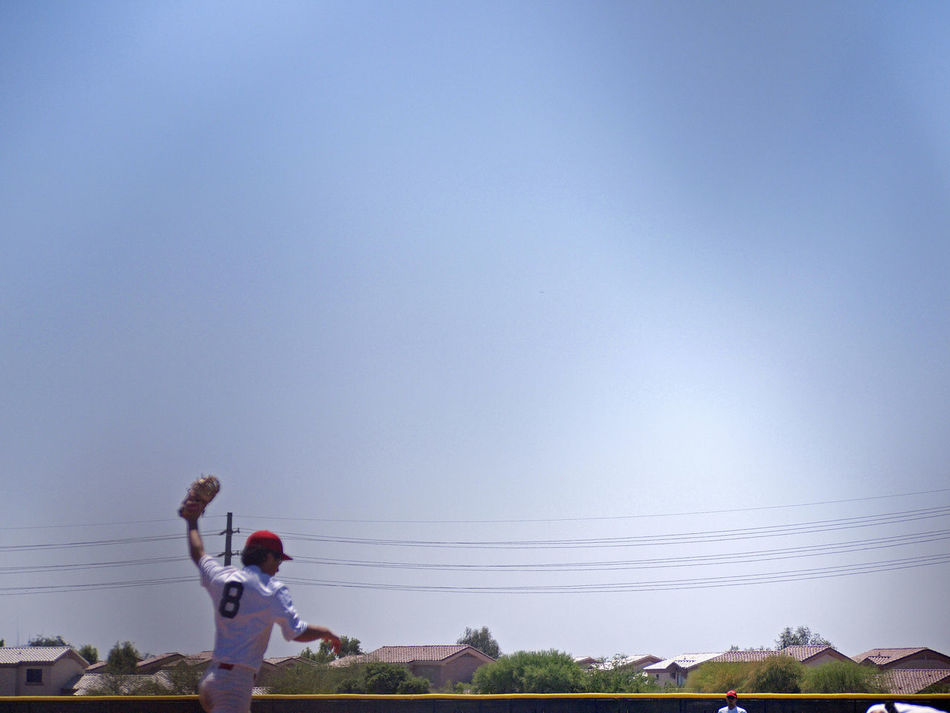 Baseball Baseball Players Beautiful Composition Big Sky Community Landscape Lines And Angles Neighborhood Homes Sky
