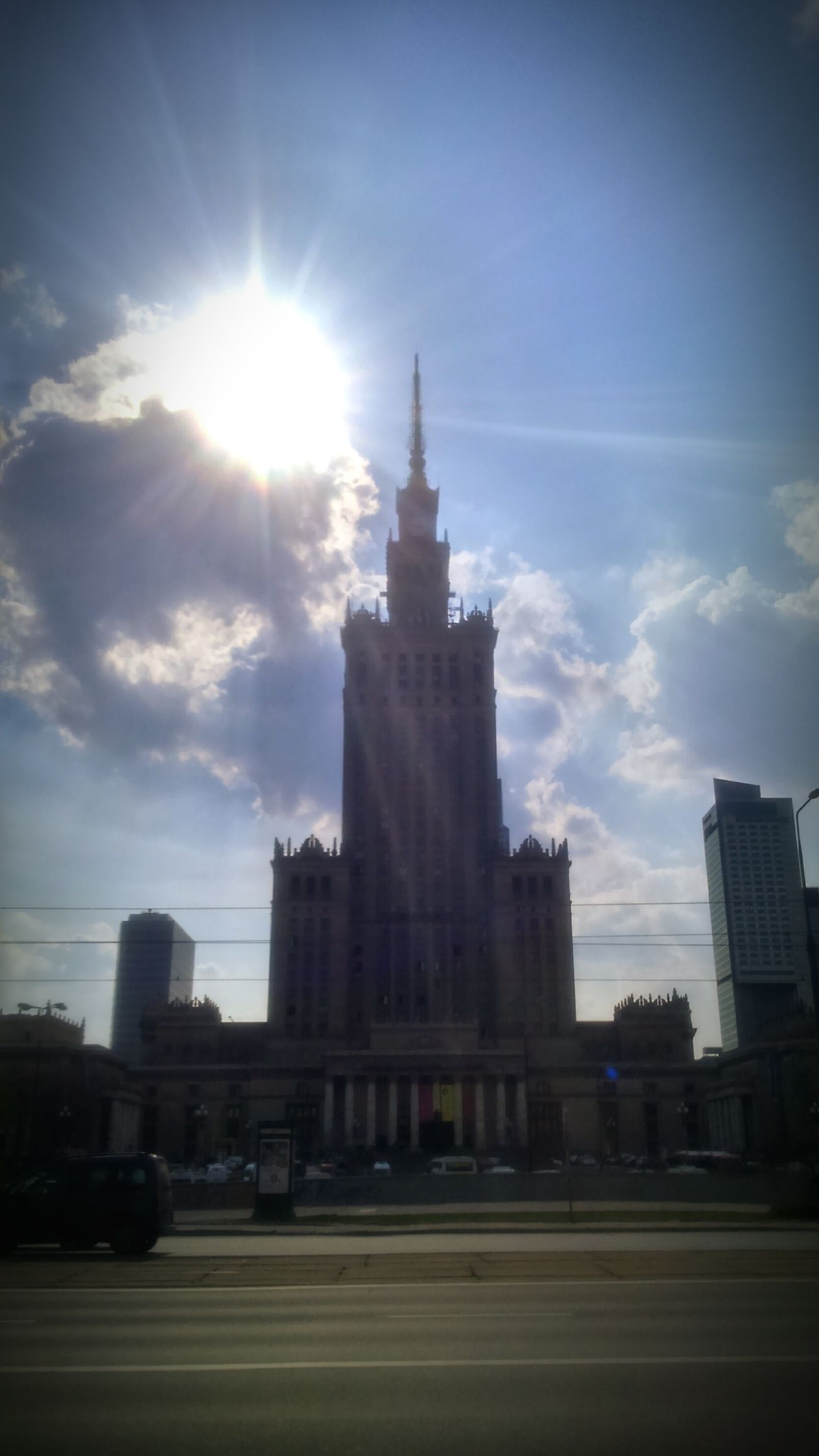 Palace Of Culture And Science In Warsaw Palace Of Culture Warsaw Warsaw Poland Poland Palace