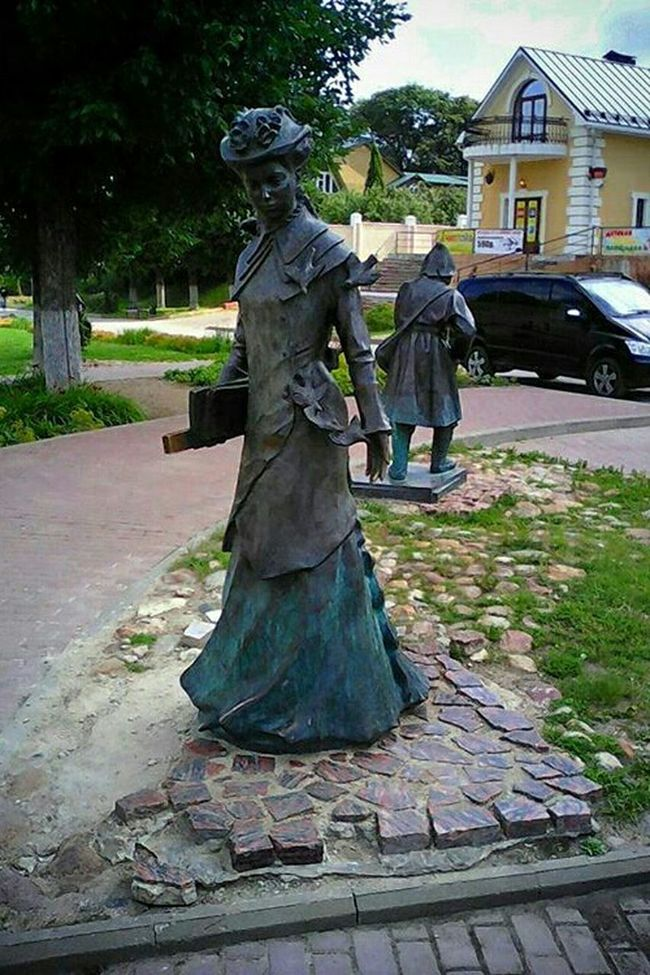 Фигура статуя скульптура Сельский учитель земская учительница Taking Photos Statue Figure Sculpture Beautiful