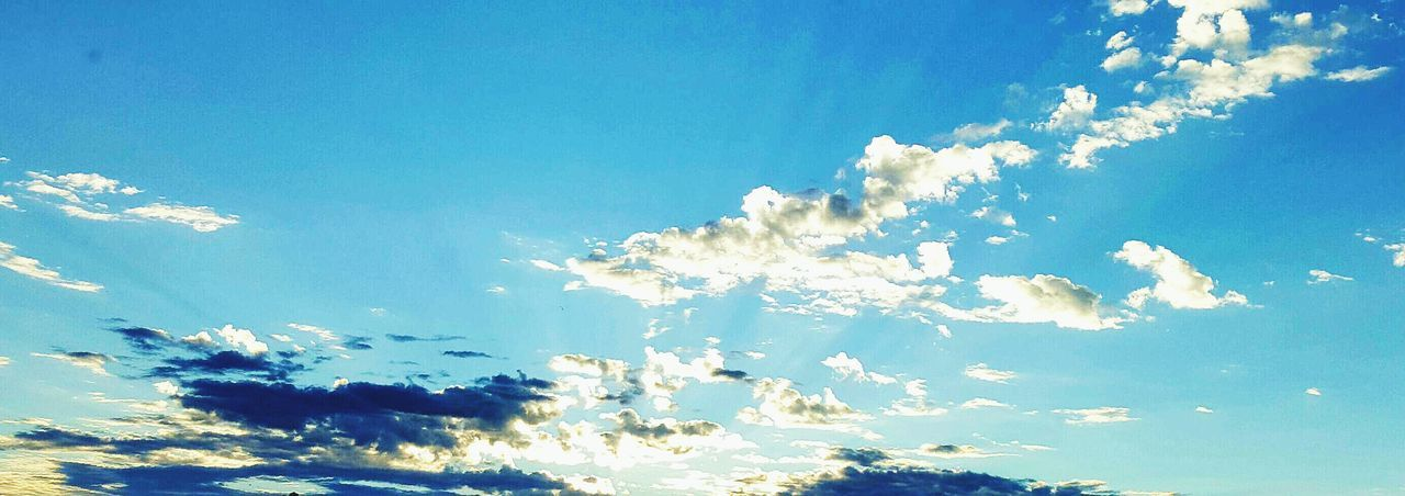 nature, sky, blue, beauty in nature, low angle view, no people, tranquility, scenics, sky only, day, cloud - sky, outdoors, blue sky