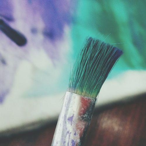 I am a Color Person Making Colors Oil Colour Drawingtime