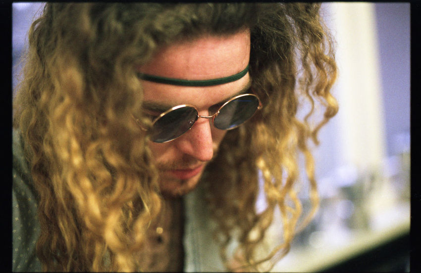 Jack H. from The Shakers Close-up Depth Of Field EyeEm Best Shots Film Film Photography Filmisnotdead Glasses Headshot Long Hair Man Music Musician Nikkormat FS (1965) Person Portrait Showcase March Sunglasses Tadaa Community