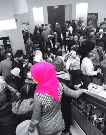 After Friday prayer Friday Prayer Hijab Scarf Mosque
