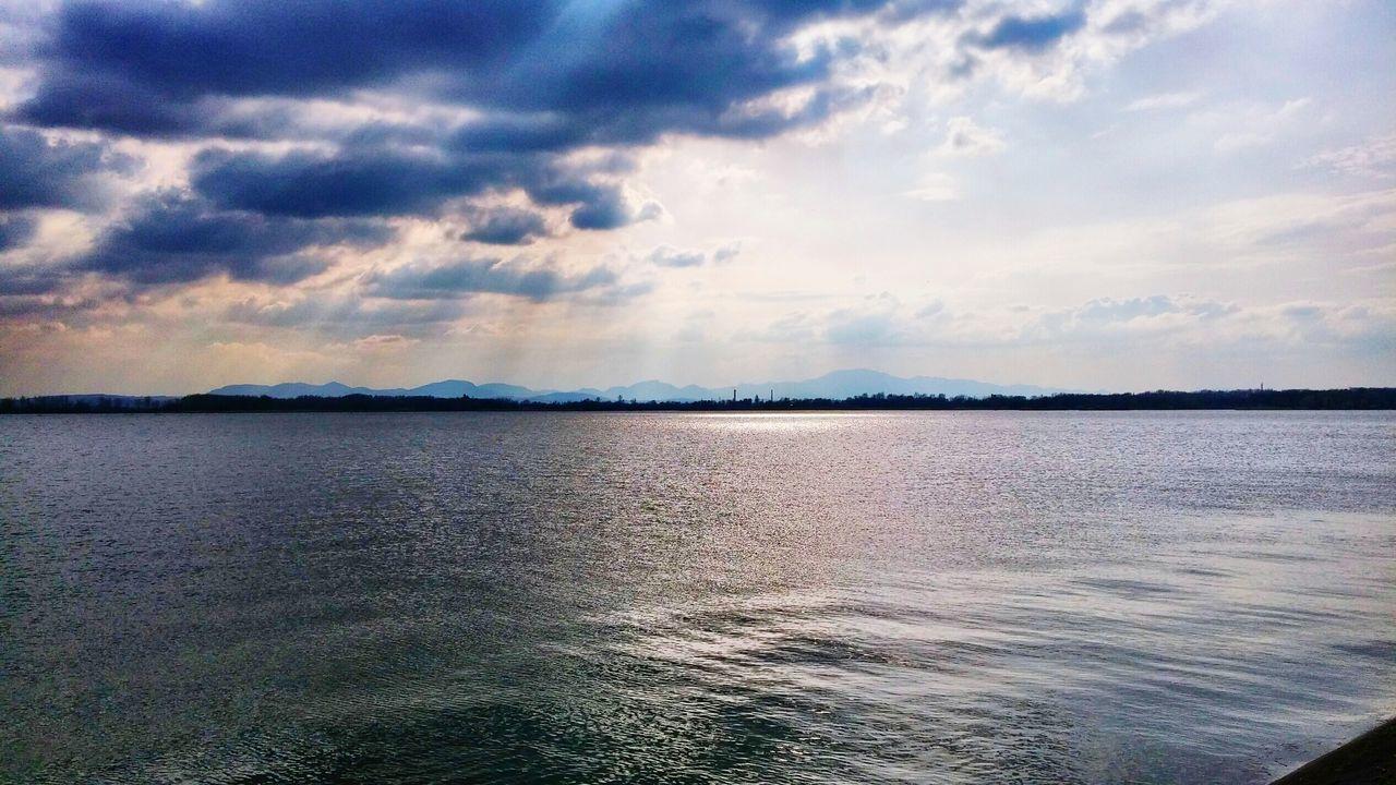 The storm is near... Lake View Storm Cloud Croatia ♡ Blue Wave Colour Of Life Eyeemphoto