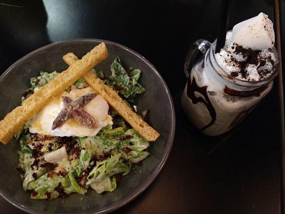 Coffeehouse dinner Coffehouse Dinner Food Marshmallows Yummy Foodlover Salat