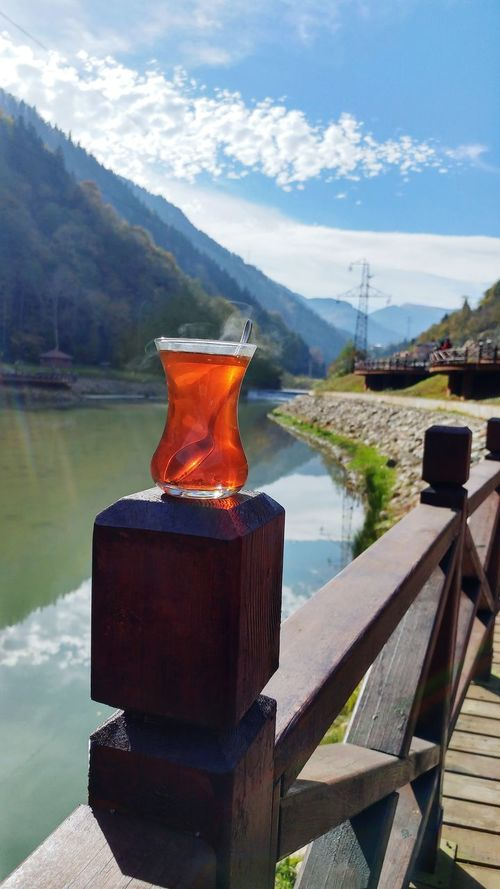 Trabzon Kiremitli Köprü Water Industry Mountain Outdoors Fog Day No People Tea Timenature Nature Lake Reflection Trabzon Kiremitli Köprü . Tea Serenity Pleasure