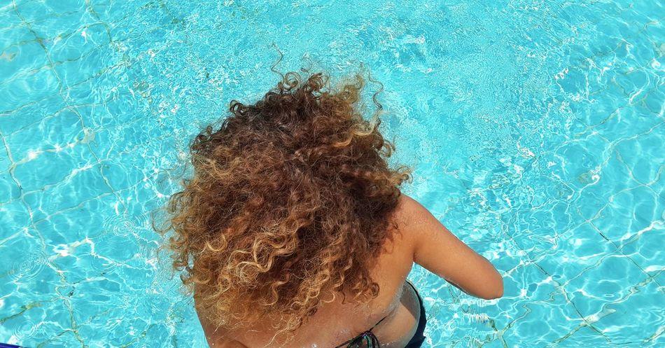 Beautiful stock photos of bikini, Blonde Hair, Curly Hair, Day, Directly Above