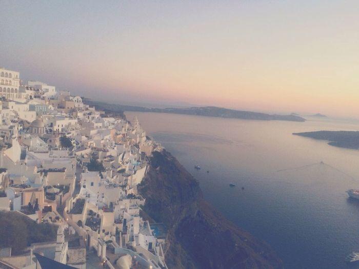 Santorini 🌞 Sea Nature Built Structure Landscape Beauty In Nature Sky