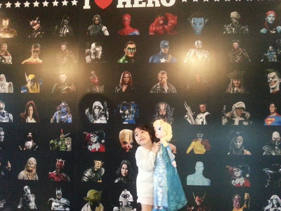 hou with hero~ Hou Little Girl Seoul, Korea Pretty