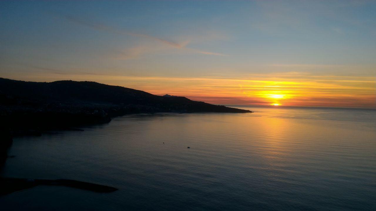 Sunset Nature Sky Sun No Filter, No Edit, Just Photography Nofilter Beautiful Day Sea Sorrentobeach Sorrento Coast Italy🇮🇹