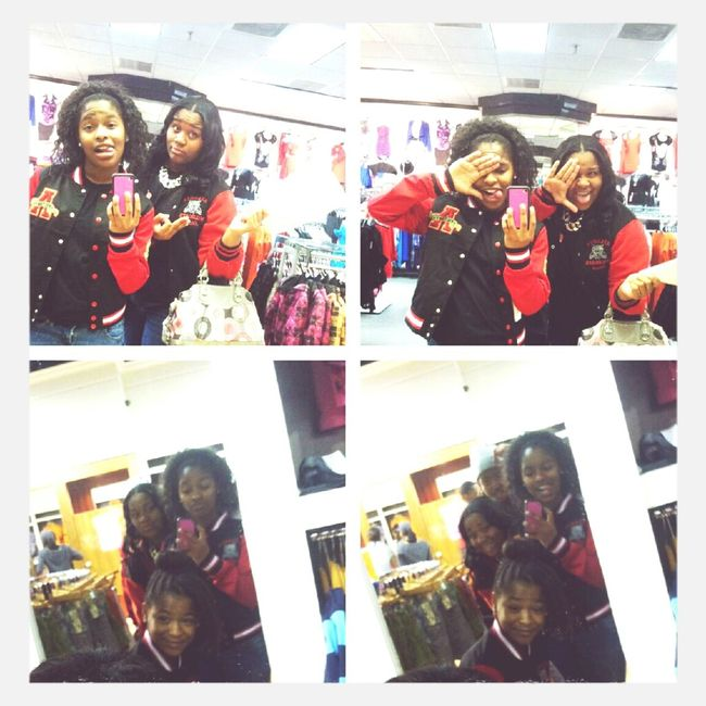 at the mall w/ @theycallme_mikhai