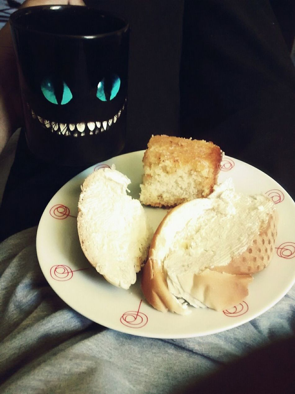 Breakfast Food Morning Blue