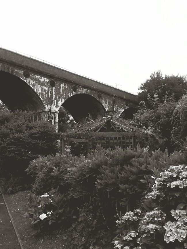 Black And White Photography Black And White Old Ruin Bridge Bridge - Man Made Structure