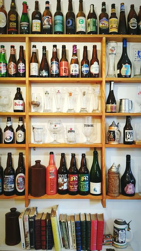 Beers from around the world - Breakfast & Beer in Daylesford. Brunch Daylesford Hanging Out