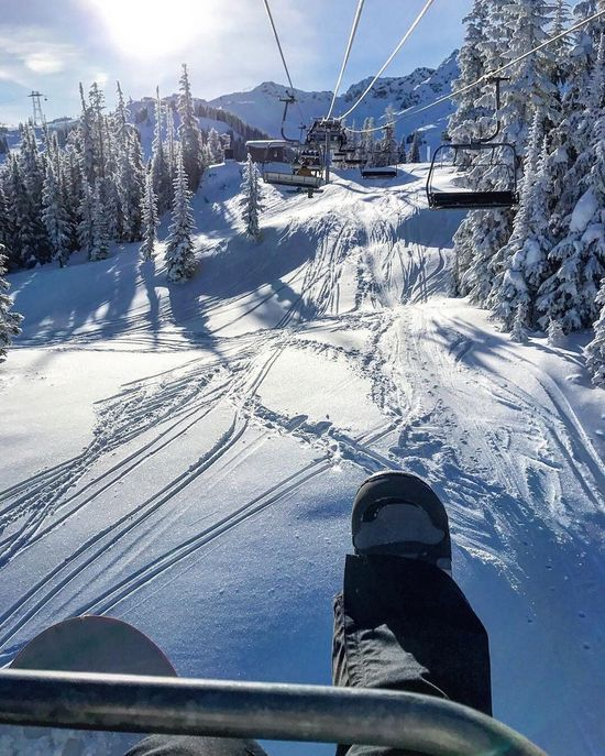 Whistlermountain Snow Winter Cold Temperature Weather Snowcapped Mountain Outdoors Ski Lift Mountain Nature Ski Track Skiing Day Ski Holiday Beauty In Nature Overhead Cable Car Sky Tree Scenics Landscape No People Snowboarding Whistlerblackcomb Whistler