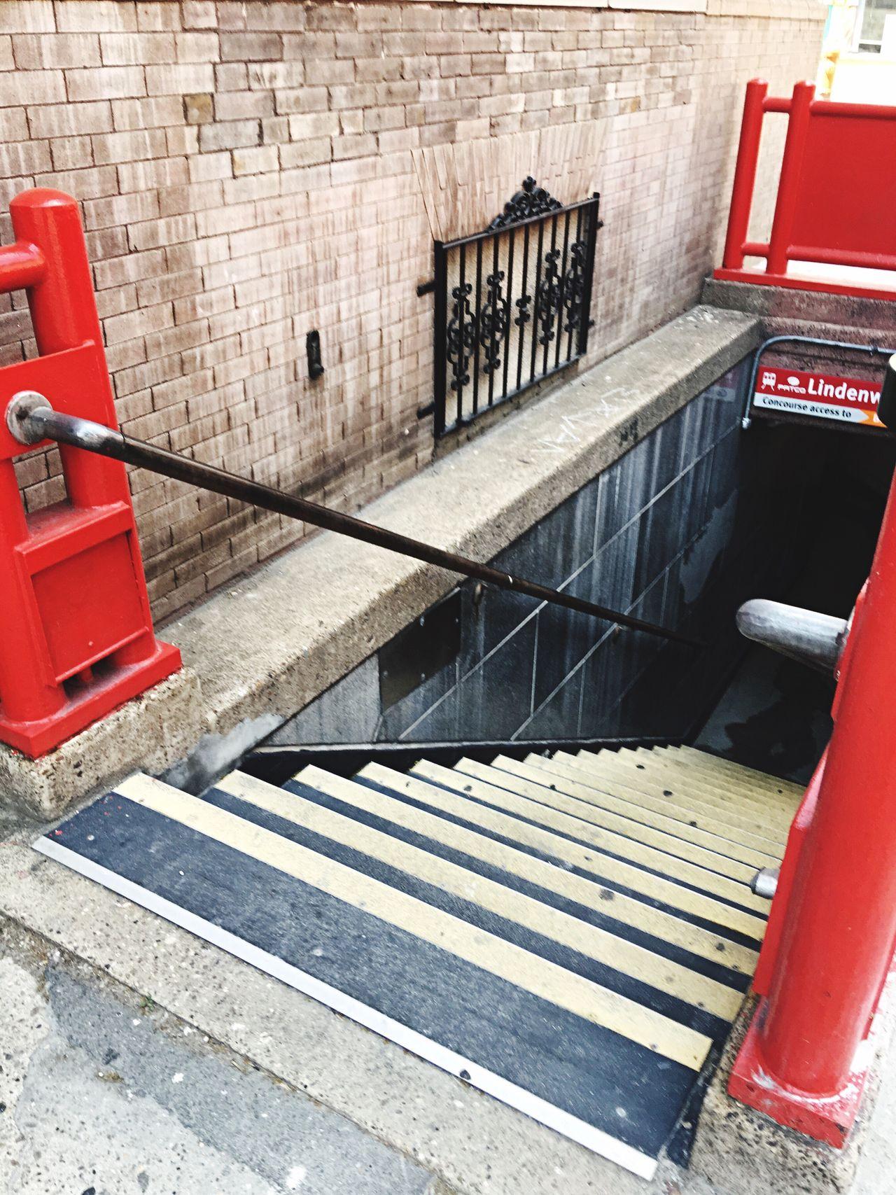 Stairwell Subway Stairwell