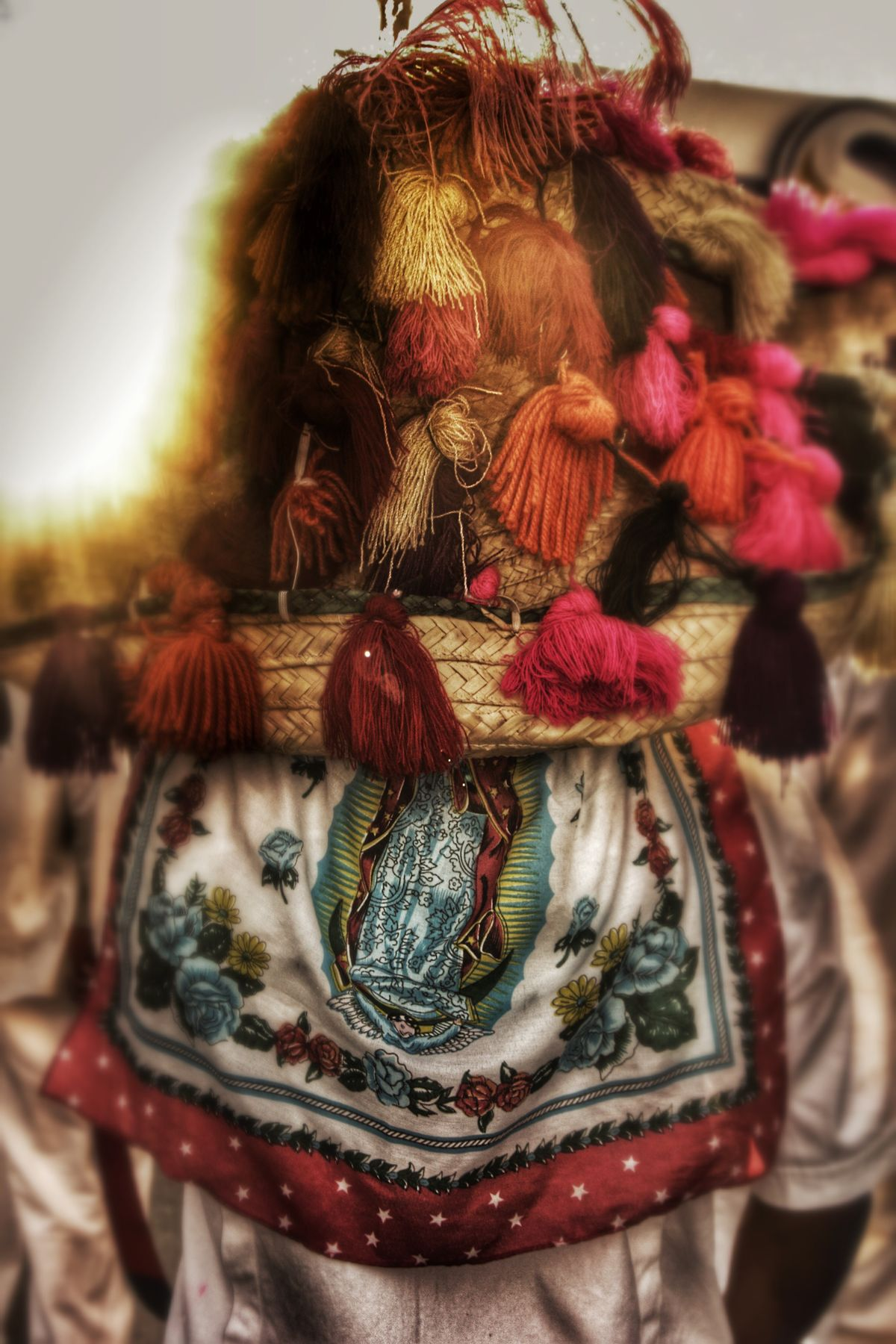 Focus On Foreground Indoors  Close-up No People Day Mexico De Mis Amores Mexico Chicahuales Aguascalientes Tradition Dancing Dancer Virgen De Guadalupe Virgen María Virgen