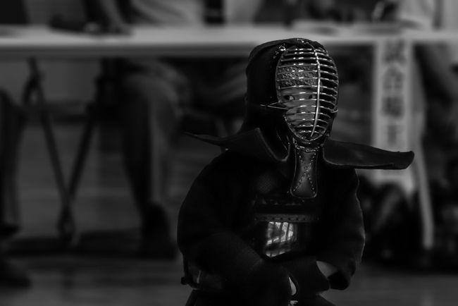 Budo Close-up Front View Gaze Hobbies Indoors  Japanese Culture Kendo Line Of Sight Part Of Real People Sitting Sport Sports Sports Photography The Human Condition The Portraitist - 2016 EyeEm Awards