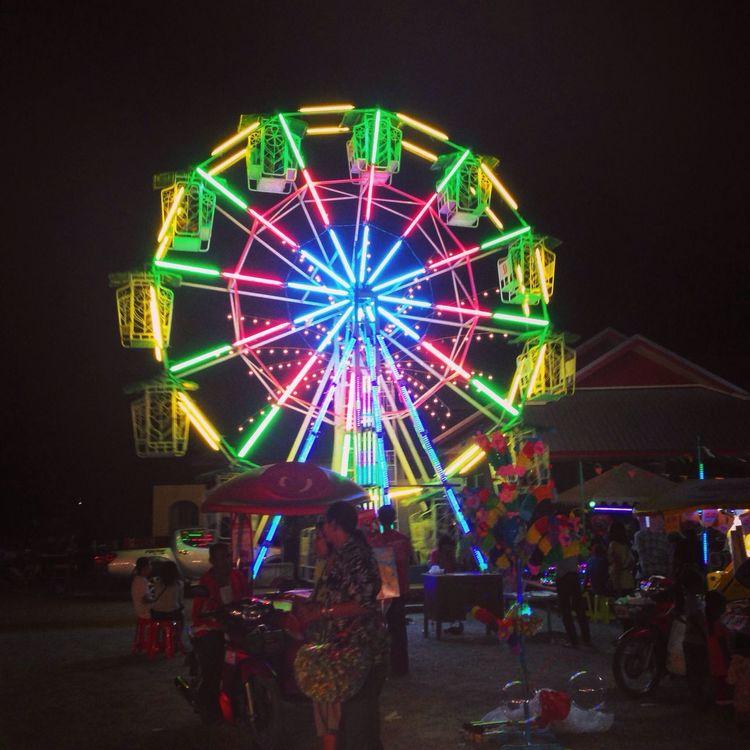 Big Wheels Enjoy The Night Hua Hin Light