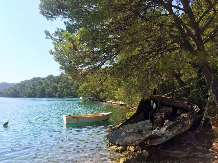 Mljet Croatia Mljet Lakeview Lakescape Lake Life Lake View Lakeside Summer Vibes Summer2016 Summer Memories... Barque Sun ☀ Sunnyday Nature_perfection Nature_ Collection  Nature Beauty Nature Is Art Worldcaptures World Of Color Color Of Life Colors Of Nature Colorfull Colors Of Life Chill Mode Chillout