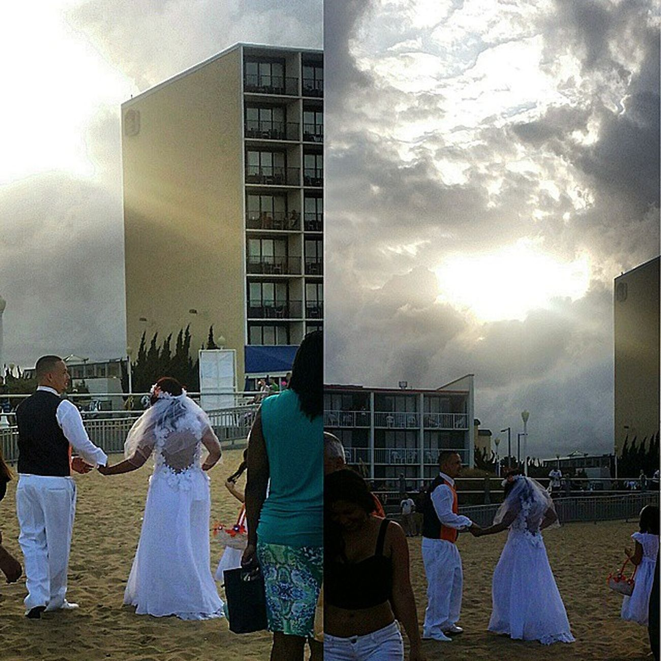 Beauty Sky Marriage  Greatfriends  perfectcouple rudetourists photobomb