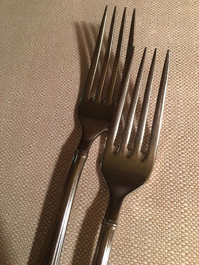 Fork Metal Stainless Steel  No People Table Close-up Indoors  Day