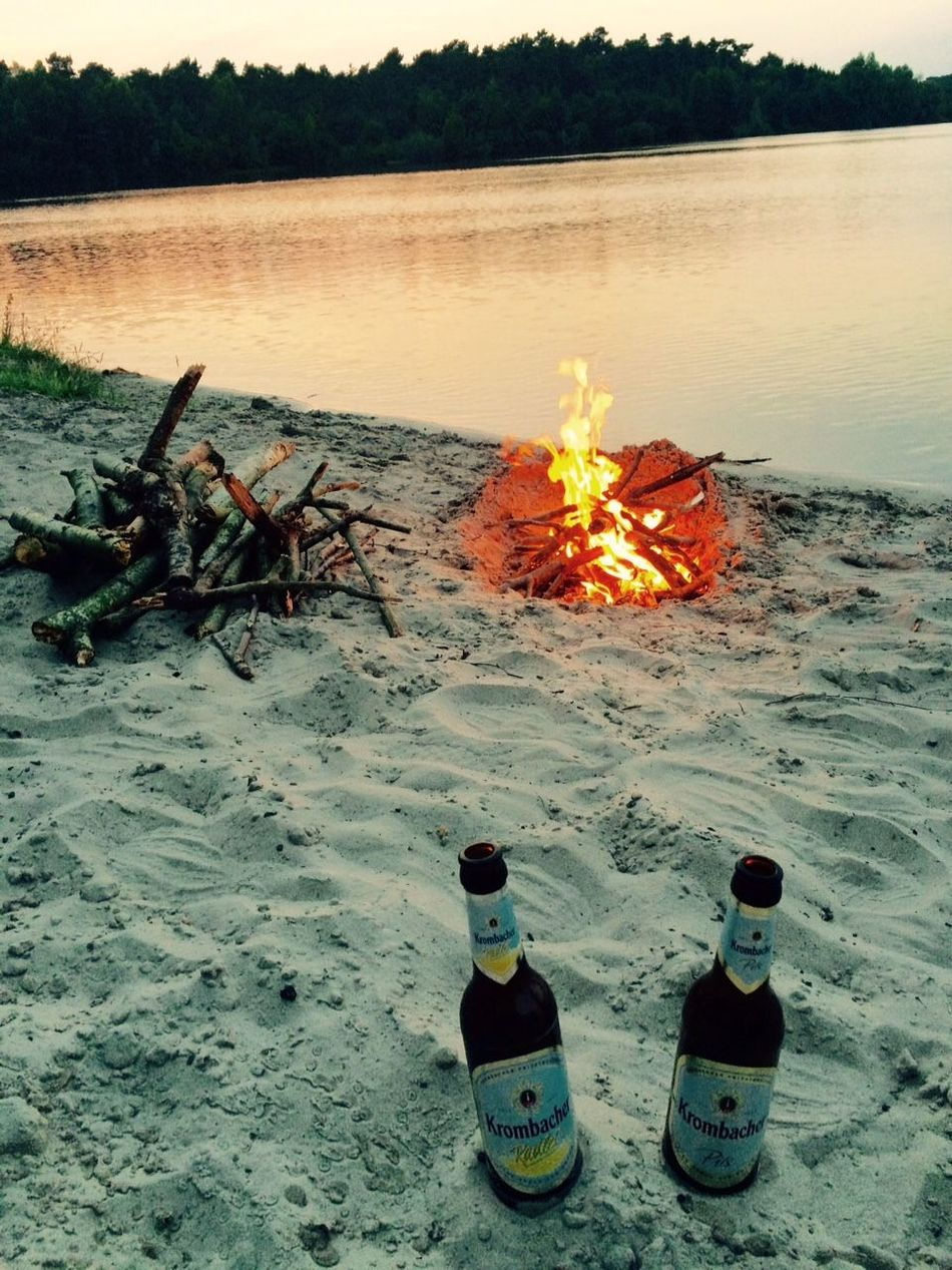 Krombacher Offlumer See Pils RadlerBeach Burning Fire - Natural Phenomenon Flame Lake Nature Outdoors Sunset Water Landscape Nature_collection Naturelovers Nature Photography Landscape_lovers Landscape_Collection Outdoor Pictures Outdoor Beauty The Secret Spaces EyeEm Diversity Resist