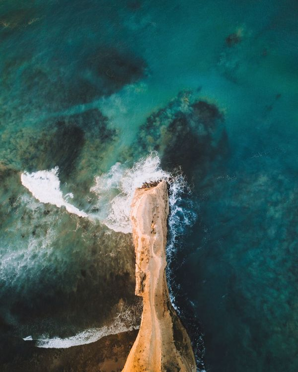 Waves, Ocean, Nature Waves Ocean Drone  DJI Mavic Pro Dji EyeEm Selects Water Nature Beauty In Nature No People Sea Power In Nature Scenics Outdoors Tranquility Day Wave