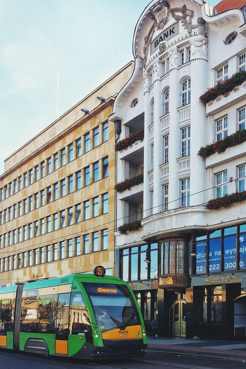 City Tram Architecture