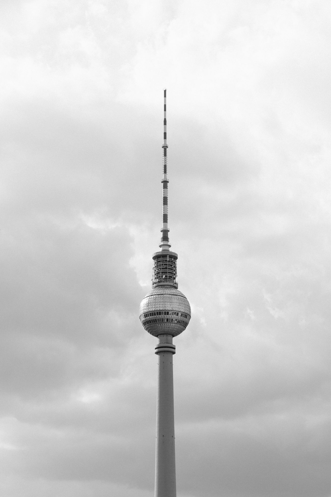 Antenna Berlin Black And White Blackandwhite Broadcasting Monochrome Monochrome Photography Outdoors Sehenswürdigkeit Sight Travel Destinations Tv Antennas TV Tower Tv Tower Berlin