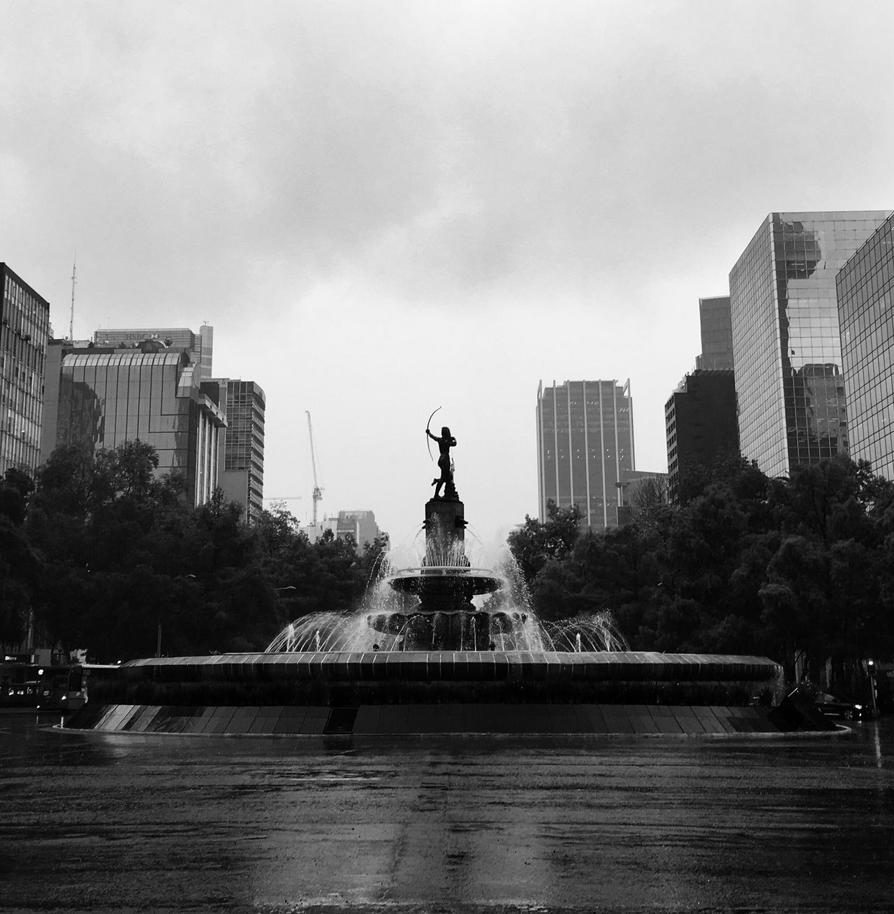 Serie: Monumentos Angel de la Independencia Architecture City Statue EyeEm Best Shots - Black + White Architecture Travel Destinations