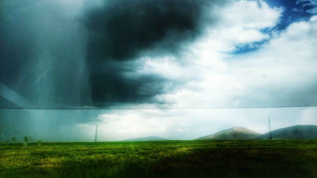 Kağızman - Selim Karayolu - Türkiye, Kars, Kağızman Nature Nature Photography Rainy