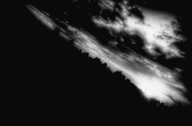 Tilted Sky Taking Photos Blackandwhite Photography Blackandwhite Sunset EyeEm Best Shots - Black + White Photooftheday Endoftheworld