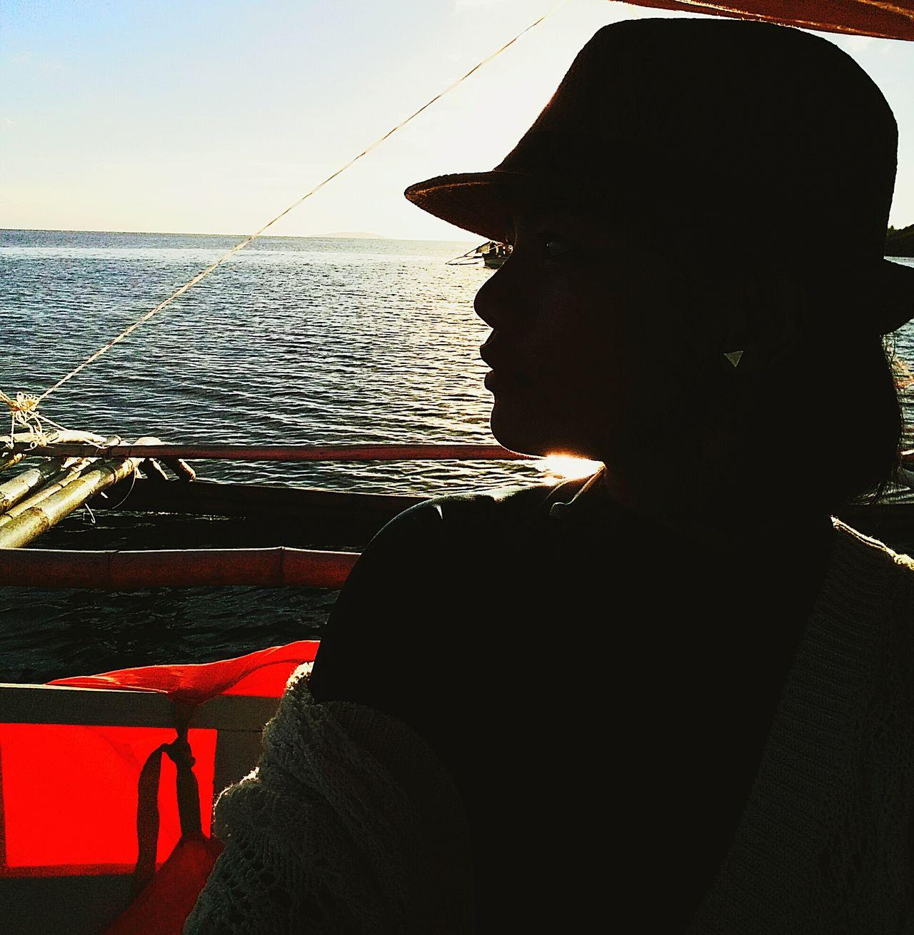Not-so-silhouette Beachin Calaguas Sunset Vitaminsea