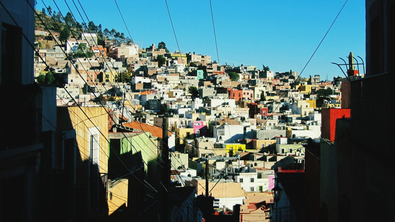 Zacatecas Panoramic View City Colors Popurrí Mexico Pothography Cabling Connecting Cityscapes Urbanphotography