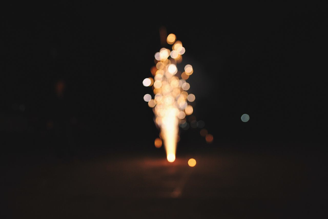 Beautiful stock photos of fireworks, Blurred, Celebration, Dark, Defocused