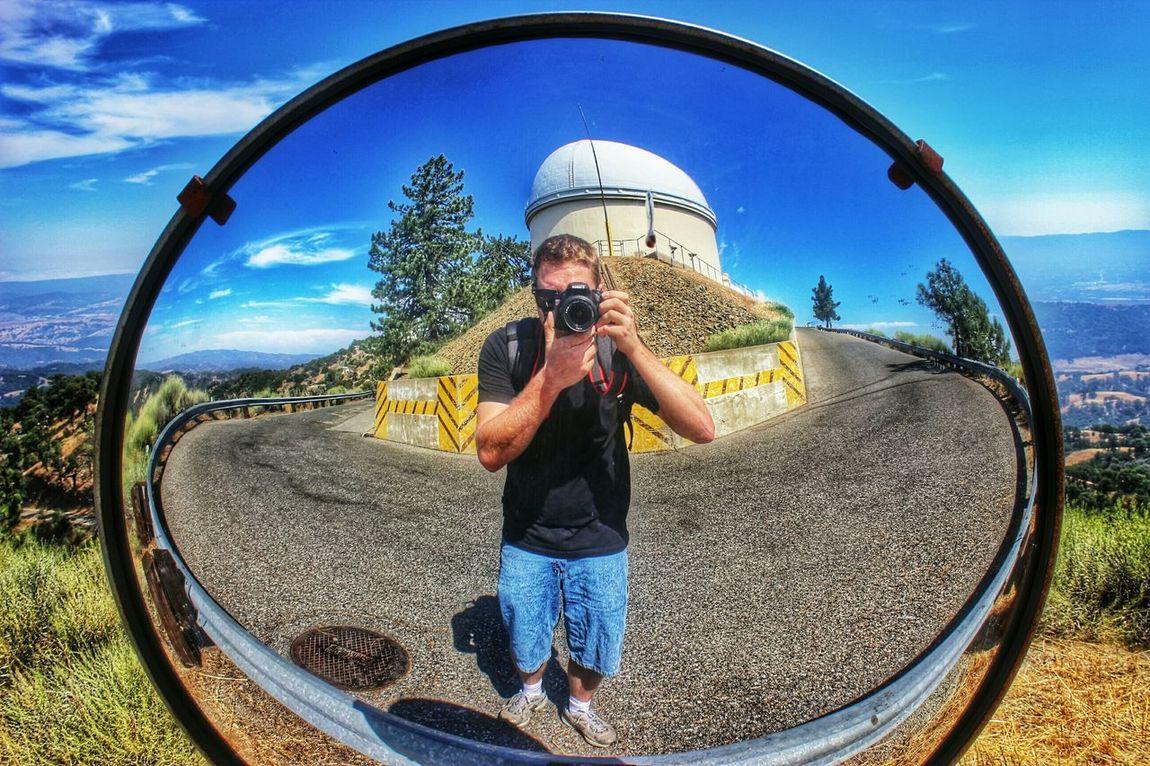 Me, My Camera And I Lickobservatory Mount Hamilton California