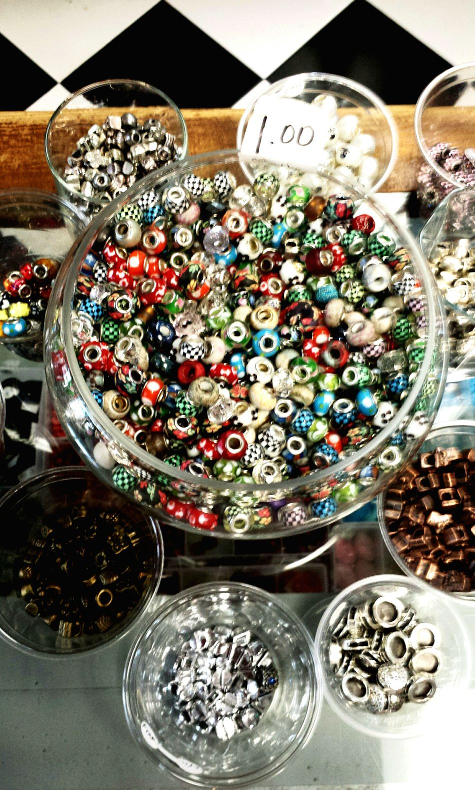 Everything In Its Place Colorful Pattern Pieces Eye4photography  Open Edit Colors Bottons Beads Creations  The Shop Around The Corner A Bird's Eye View
