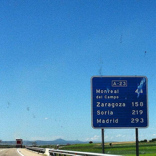 Roadtrip across SPAIN from Murcia to Olite
