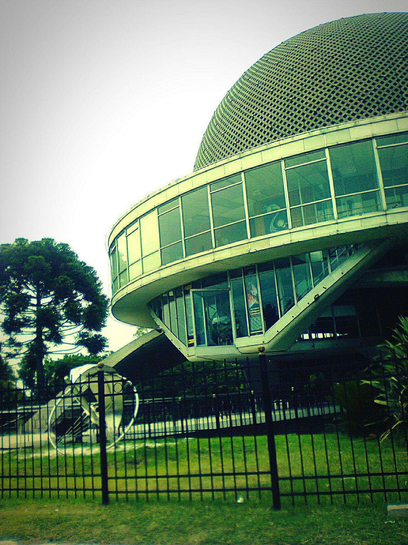 Planetario. Buenos Aires, Argentina. December 2014. Theory Architecture Tourism Study Argentina Holidays Green Nature Tourist Attraction