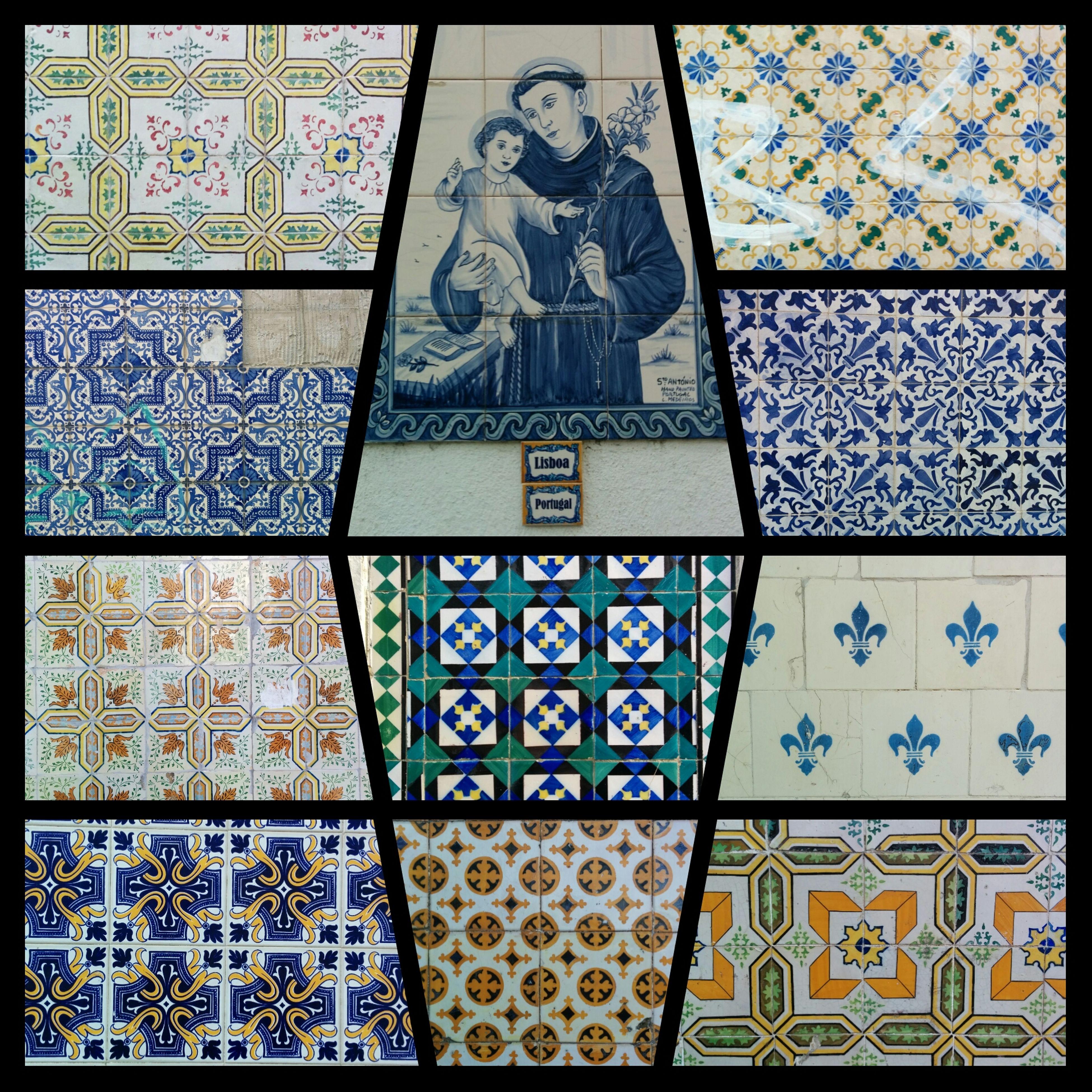 Lisboa Azulejos Lisbonne Streetart