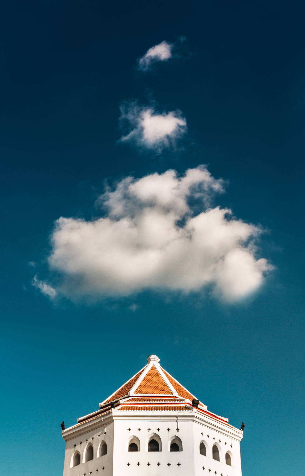 Architecture Building Exterior Building Feature Built Structure Cloud - Sky Day Minimalist Architecture No People Outdoors Sky Travel Destinations