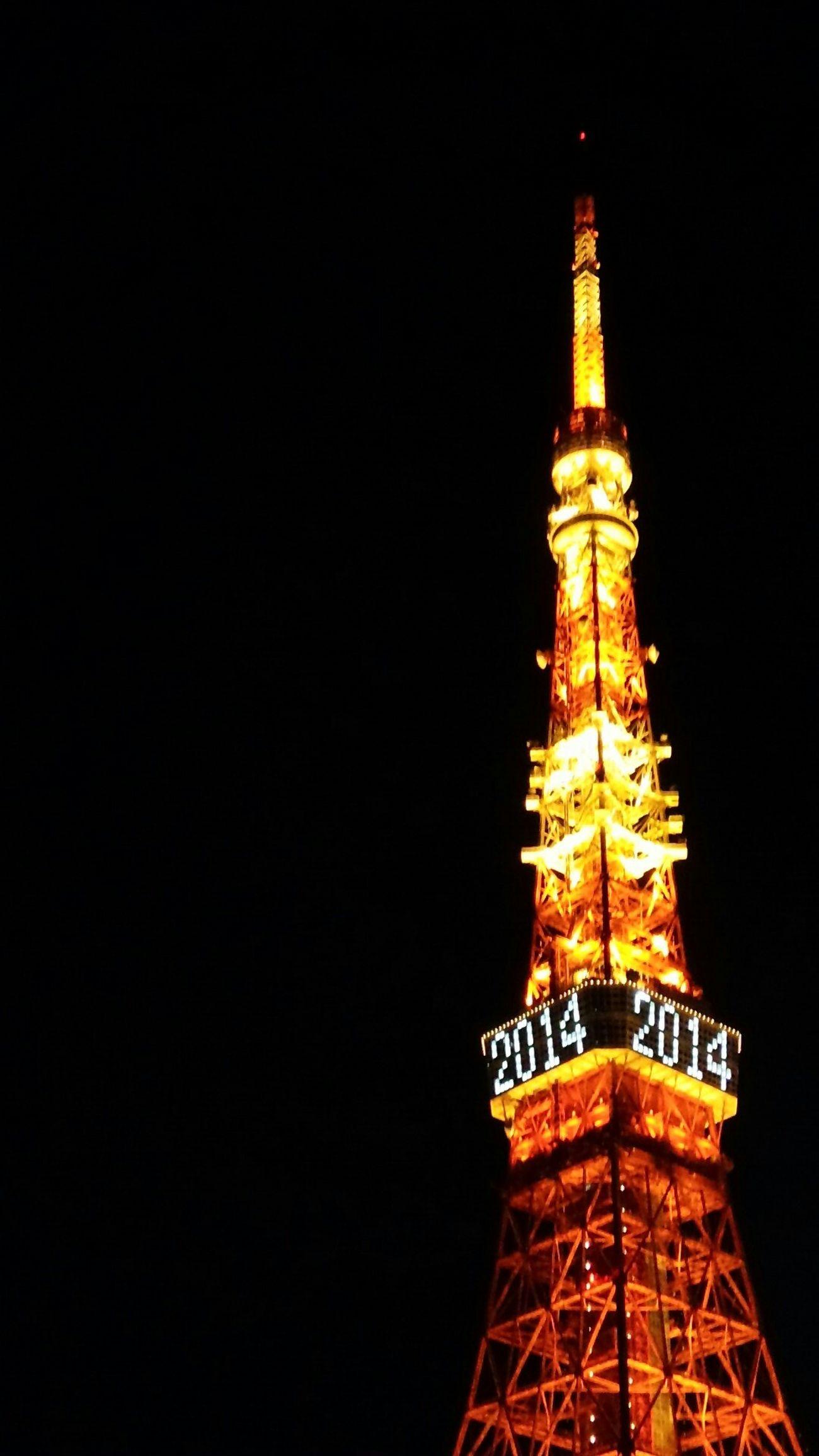 往く年 EyeEm Nature Lover Tokyo Tower Night View One Photo A Day 2014
