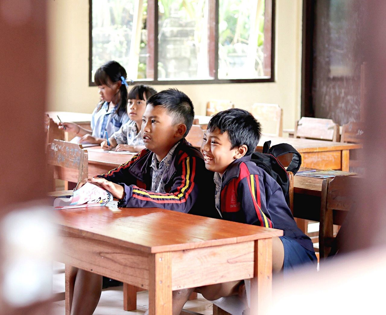 Priceless smile, that can't be bought || Check This Out Hidden Gems  Kids Student School Teaching Bali Kintamani Class
