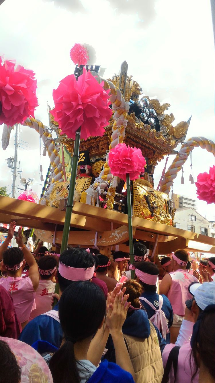 1t or more heavy. Brava👏 Culture Festival Matsuri Autumn Enjoying Life Since 18th Century People Photography
