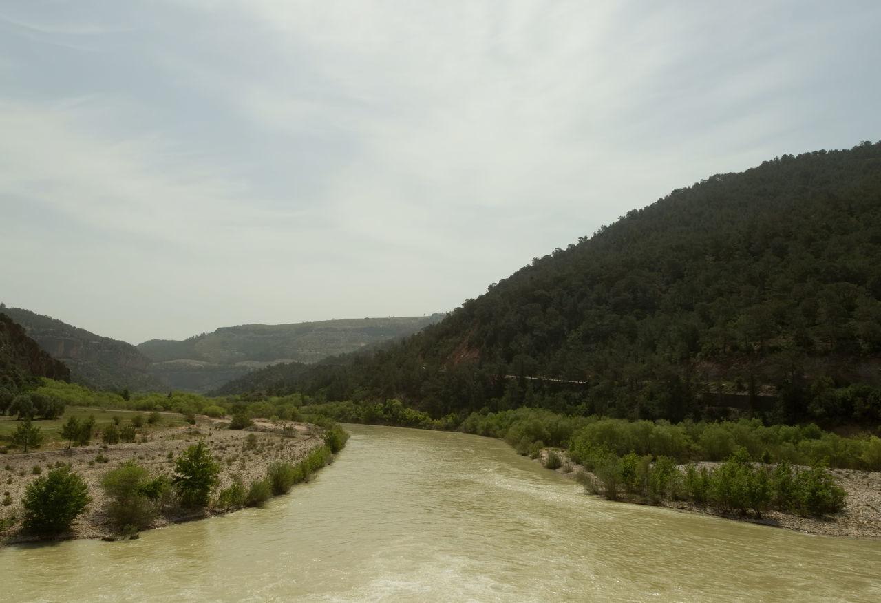 Goksu River Beauty In Nature Flowing River Flowing Water Goksu Goksunehri Landscape Mountain Nature River River Bank  River View Riverbank Rocks Scenics Sky Tranquility Tree Turkey Water