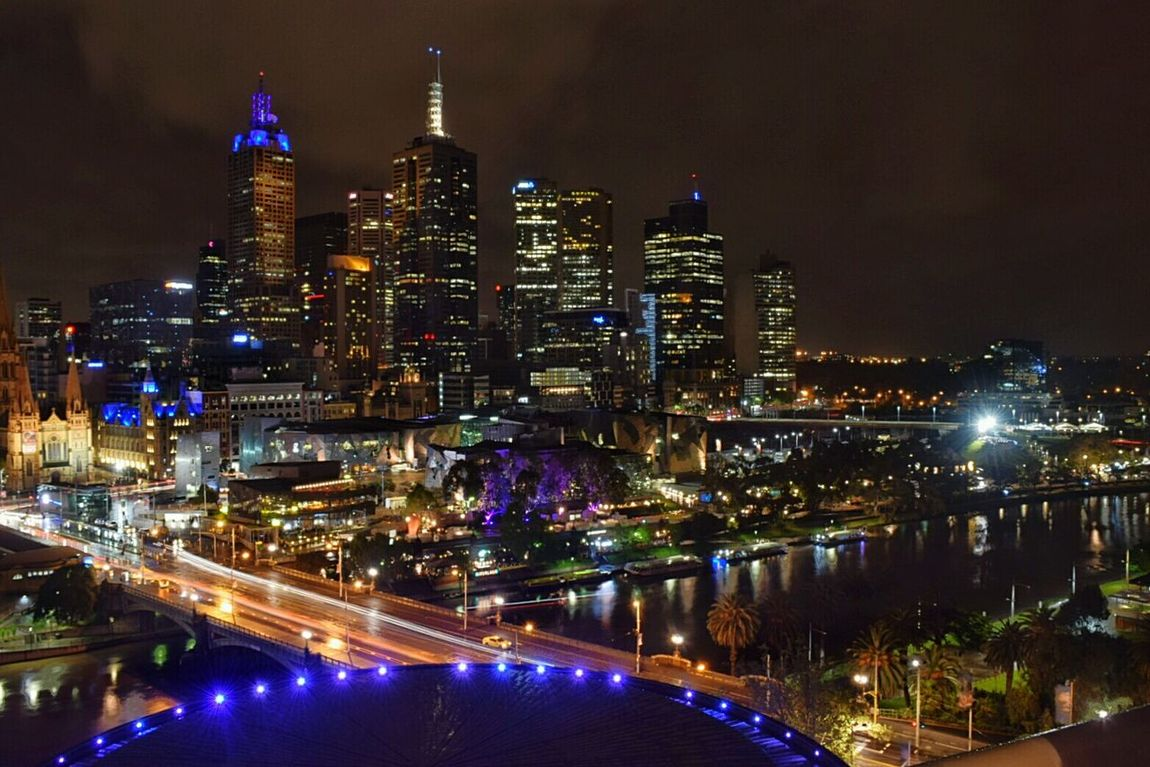 Photo Photography Night City Cityscape Melbourne Melbourne City Nightphotography Night View Photooftheday Photography In Motion Night Lights Photography Themes Finding New Frontiers