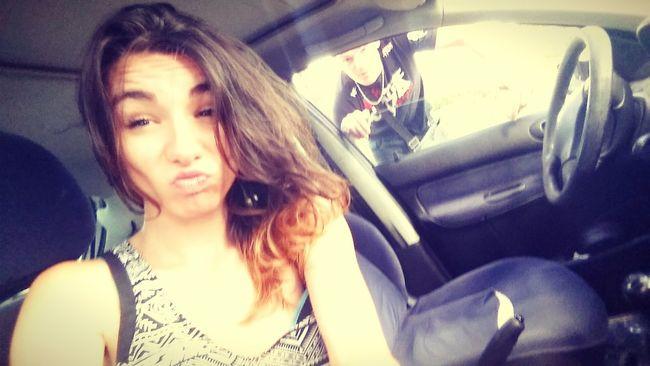 Car Love <3 Loveyou ♡ Selfie