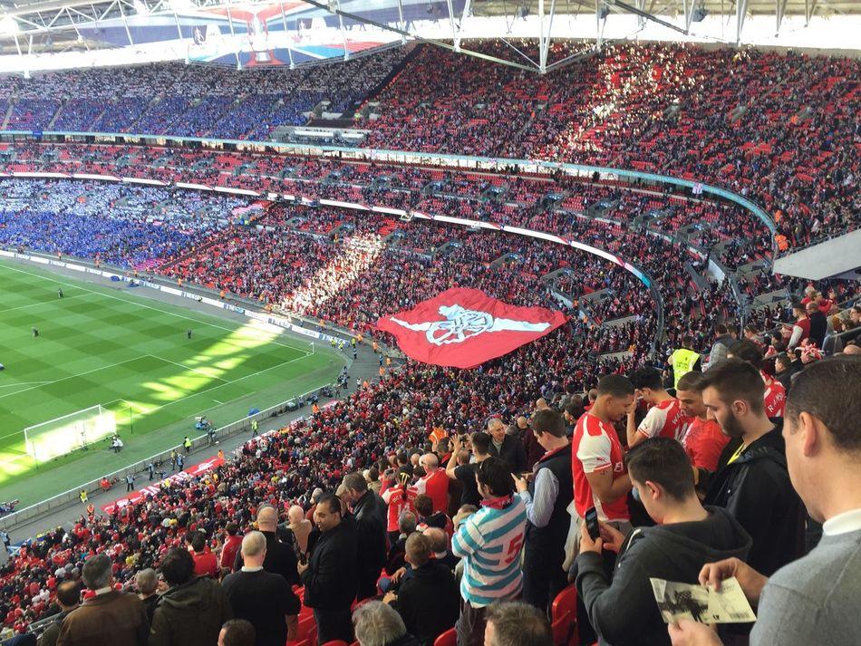 Prematch Arsenal Wembley